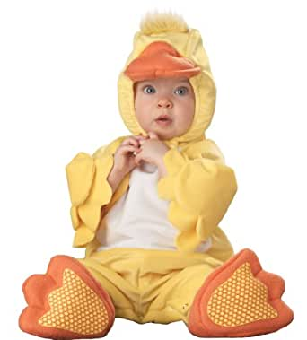 InCharacter Infant Duck Costume, Yellow/Orange/White, 18-24 Months