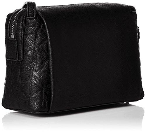 Calvin Klein Jeans Mish4 Small Crossbody - Bolso bandolera Mujer Negro (Black)