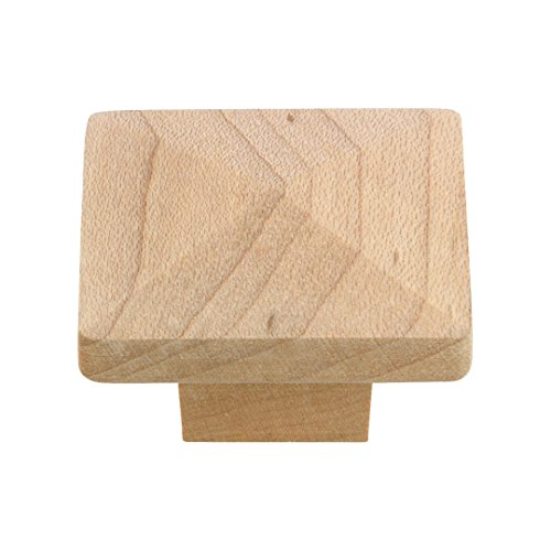 Richelieu Wood Knobs - Richelieu Hardware - BP115150 - Eclectic Maple Wood Knob - 115 - Unfinished Maple Finish