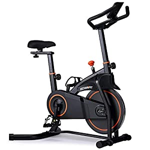 Well-Being-Matters 41ssmDMP2gL._SS300_ ECHANFIT Magnetic Bike Stationary Exercise Bikes with Quiet Belt Drive and Infinite Resistance Levels for Home Studio…