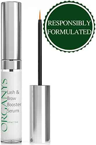 Organys Eyelash & Eyebrow Growth Serum (High Potency) Grows Longer, Fuller, Thicker Lashes & Brows in 60 days! Enhancing Conditioner Treatment Boosts Regrowth Prevents Thinning Breakage and Fall Out