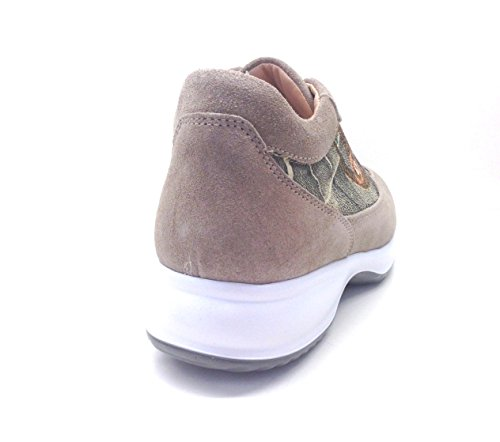 Sabbia beige Cuoio Gattinoni Sneakers 6044 Similpelle Donne YCBXw