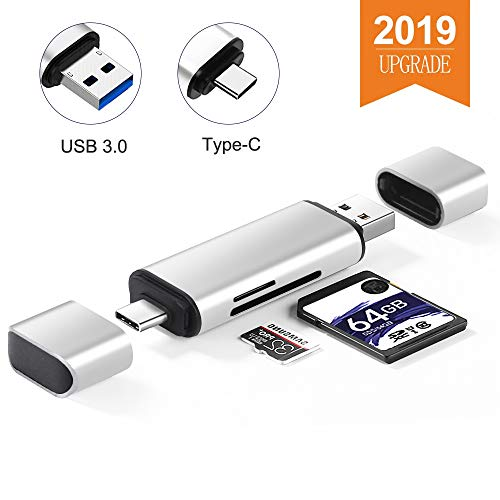 - Onvian SD Card Reader, Aluminum USB 3.0 Type C Memory Card Reader OTG Adapter for SDXC, SDHC, SD, MMC, RS-MMC, Micro SD, TF, Micro SDXC, Micro SDHC, UHS-I Card