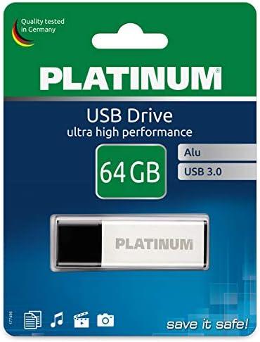 Platinum Alu Usb Stick 64 Gb Usb 3 0 Usb Flash Laufwerk Computer Zubehör