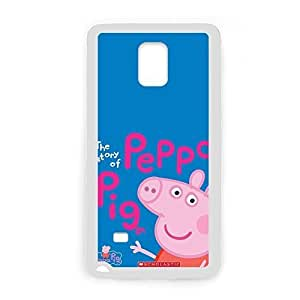 Durable Soft Creative Phone Cases For Girly Printing With Peppa Pig For Galaxy Note 4 Samsung Choose Design 1