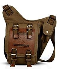 FANDARE Shoulder Backpack Cross Body Bag Sling Bag Men/Women Canvas