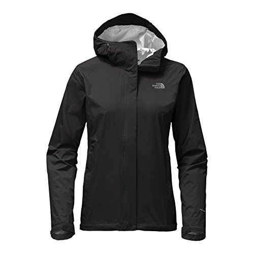 (The North Face Women's Venture 2 Jacket TNF Black Small )