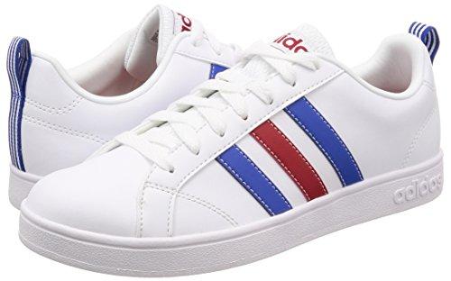 Blanc Baskets Pour Adidas Hommes Bleu Blancs Vs Advantage 0 Puissance Rouge chaussures 0wwqE4Sx