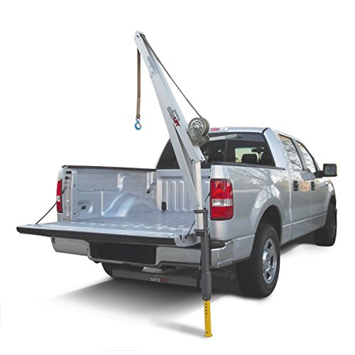 (SpitzLift LKTRS-700 Pickup Truck Receiver Hitch Crane Package w/20' Strap)