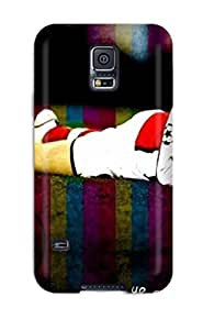 Awesome Aaron Ramsey Flip Case With Fashion Design For Galaxy S5