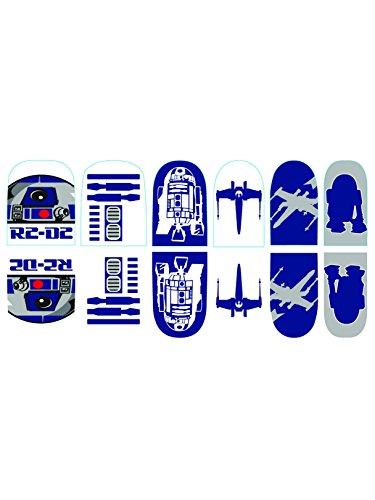 Rubie's Adult Star Wars R2-D2 Nail Stickers]()