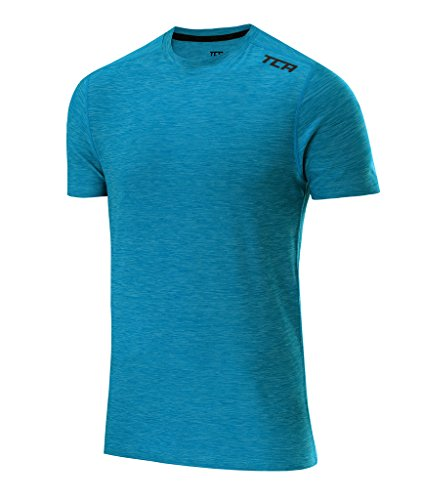 Galaxy Training Top (TCA Men's Galaxy Short Sleeve Training Top - Vivid Blue, L)