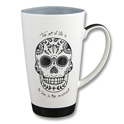 Karma Gifts Black & White Mug,