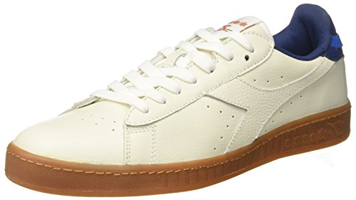 Cassé Bianco Sneakers Diadora Homme Game Basses Estate Low Blu Blanc L wqA0ZO