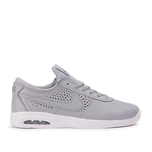 Nike Mens Sb Air Max Bruin Vapor Scarpe Da Skate Lupo Grigio / Lupo Grigio-grigio Freddo