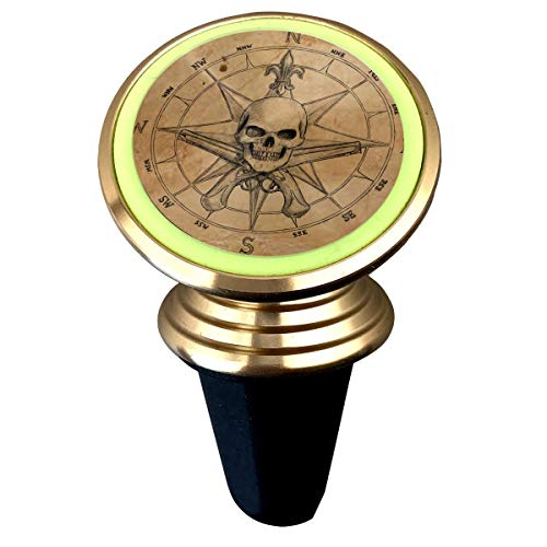 Price comparison product image Magnetic Phone Holder Steampunk Compass Drawing 360 Degree Rotation Universal Car Mount Cell Phone Stand for Phone X / 6 / 6s / 7 / 8 / 8 Plus / 7,  Galaxy S9 / S9 Plus / S8 / S7