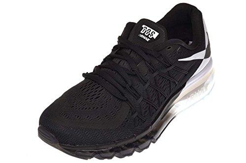 Nike Womens Air Max 2015 Joggesko Sort / Hvit-svart
