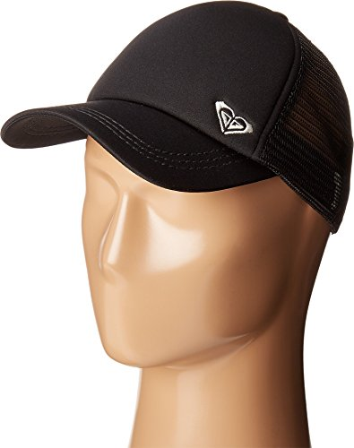 Roxy Junior's Finishline Trucker Hat, Anthracite, One Size ()