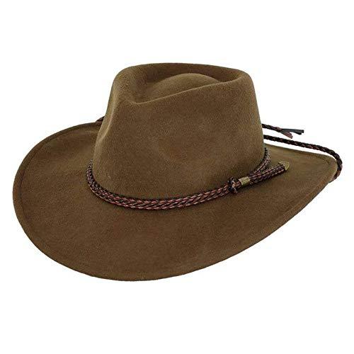 Outback Trading Broken Hill Hat, Brown, Medium