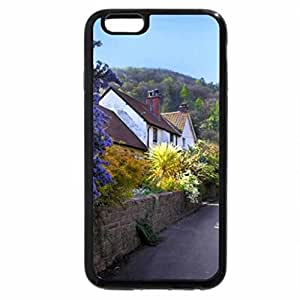 iPhone 6S / iPhone 6 Case (Black) a street in an english village