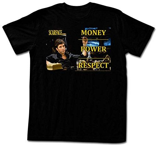 Scarface - Monpowres T-Shirt - Schwarz