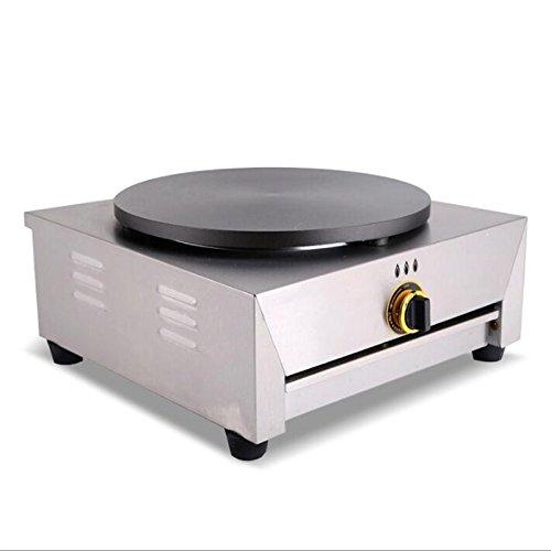 Uso Comercial sola cabeza Gas crepes eléctrica horno 40 cm Pancake ...