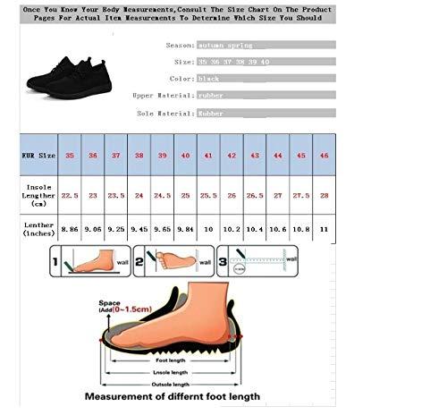 Casual Leggera Mesh Da Donna Sneakers In Confortevoli Sneaker Traspirante Scarpe Ysfu Antiscivolo Xpn4AUOx