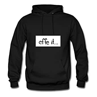Speacial Vogue Personalized Hoody Cotton Effe It X-large Women Black