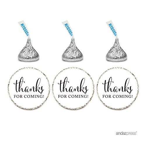 andaz-press-chocolate-drop-labels-stickers-thanks-for-coming-white-216-pack-for-wedding-birthday-par