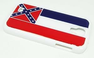 Mississippi US Flag Design Samsung Galaxy S4 Case-White