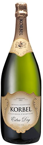 Extra Dry Sparkling Wine - Brown-forman Korbel Extra Dry California Champagne 24.00 Proof% Abv, 1.5 Ml