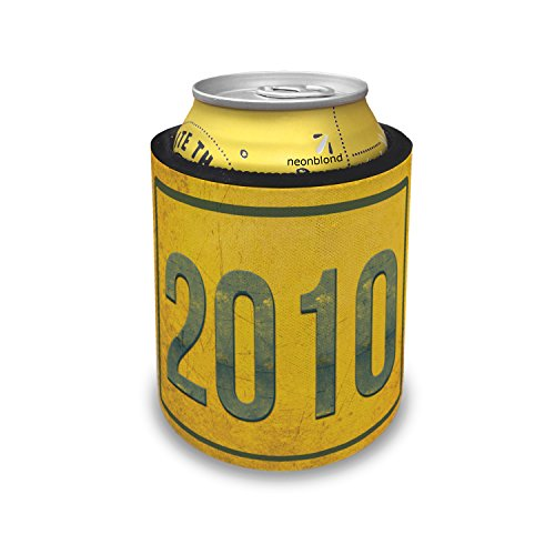 Slap Can Coolers Birth Year 2010 Insulator Sleeve Covers ()