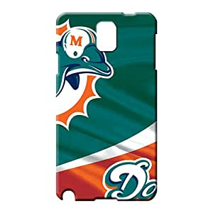 samsung note 3 covers Colorful Back Covers Snap On Cases For phone cell phone shells miami dolphins nfl football