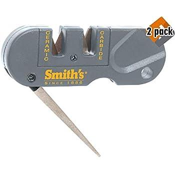Smiths PP1 Pocket Pal Multifunction Sharpener, Grey - 2 Pack