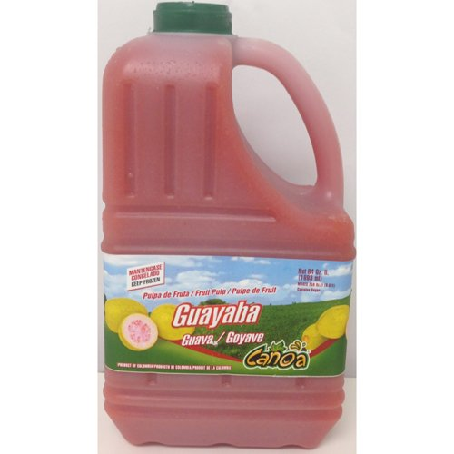 Guava Fruit Pulp Puree Frozen - 64 oz (Pack of 6)