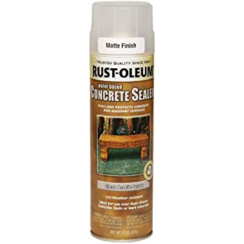 Rust Oleum 247167 Concrete Sealer Spray Matte Clear 15