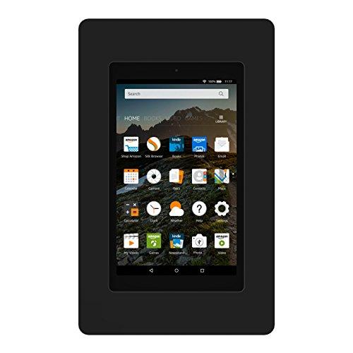 VidaMount On-Wall Tablet Mount - Amazon Fire HD8 7th Gen - Black (2017) by VidaMount (Image #2)