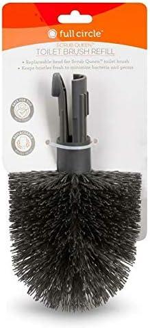 Replacement Head Full Circle Scrub Queen Toilet Bowl Brush Refill