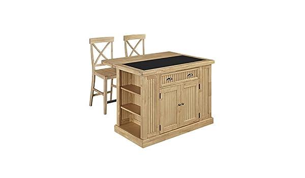 Amazon.com: Home Styles 5055-948G Nantucket Natural Kitchen ...