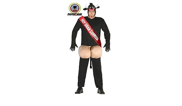 Disfraces Despedidas de Soltero de Toro Semental: Amazon.es ...