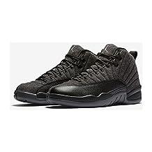 """Air Jordan 12 """"Wool"""" 852627-003 October 2016 Release Premium Basketball Shoe Men"""
