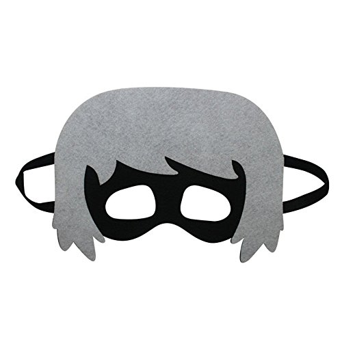 Face mask Shield Veil Guard Screen Domino False Front Child mask Goggles cat Kid mask Role Playing A by PromMask
