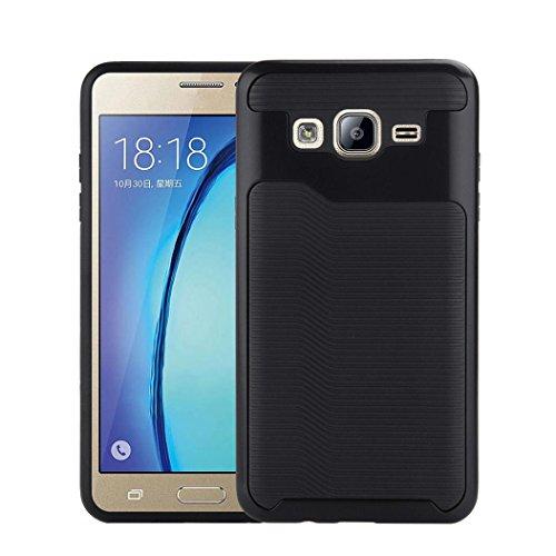 Samsung Galaxy On5 G550 case;Haihood Hard Bumper Hybrid Soft Rubber Skin Case Cover For Samsung Galaxy On5 G550