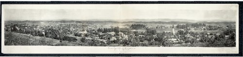 Photo Birds eye view of Abingdon, Va. 1915