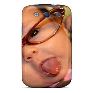 Hot Tpye Funny Baby Pics Case Cover For Galaxy S3
