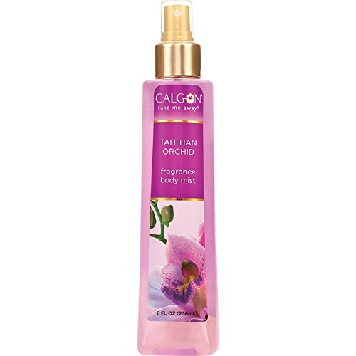 Calgon Tahitian Orchid Fragrance Body Mist 8 oz Pack of 5