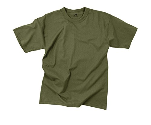 (Rothco Moisture Wicking T-Shirt, Olive Drab, Large)