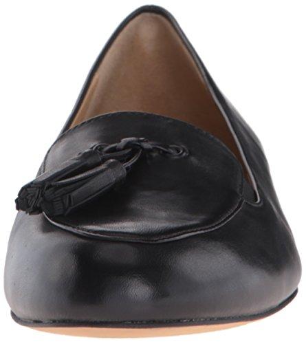N US Trotters Flat Ballet Women's Suede Black Black Caroline 6 nqvCnF