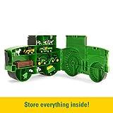 TOMY John Deere Durable Vehicle Toy Set for Kids