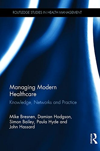Large book cover: Managing Modern Healthcare